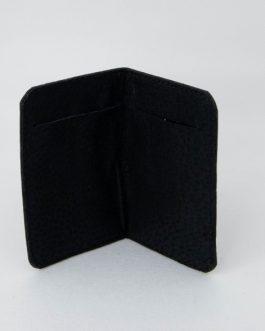 Tarjetero 2 ranuras tonos negros