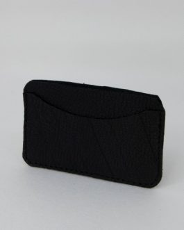Tarjetero horizontal tonos negros