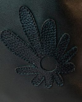 Mochila alargada negro